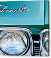 1968 Chevrolet Chevelle Headlight Canvas Print