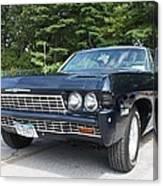 1968 Chevrolet Impala Sedan Canvas Print