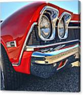 1968 Chevy Chevelle Ss 396 Canvas Print