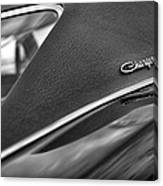1968 Dodge Charger Rt Canvas Print