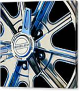 1968 Ford Mustang Fastback 427 Shelby Cobra Wheel Canvas Print
