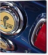 1968 Ford Mustang - Shelby Cobra Gt 350 Taillight And Gas Cap Canvas Print