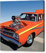 1968 Plymouth Road Runner Canvas Print