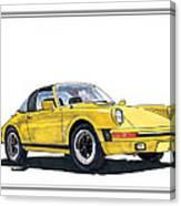 1968 Porsche Targa Canvas Print