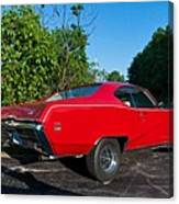 1969 Buick Gs Canvas Print
