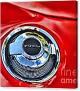 1969 Charger Fuel Cap Canvas Print
