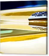 1969 Chevrolet Camaro 427 Hood Emblem - 0879c Canvas Print