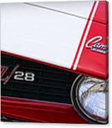 1969 Chevrolet Camaro Z28 Canvas Print
