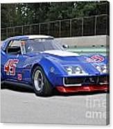 1969 Chevrolet Corvette Race Car Canvas Print