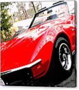 1969 Chevrolet Corvette Stingray - X Canvas Print