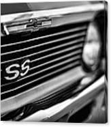 1969 Chevy Nova Ss  Canvas Print