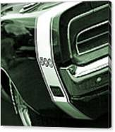 1969 Dodge Charger 500 Canvas Print