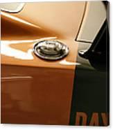 1969 Dodge Charger Daytona - Fuel Day Canvas Print