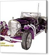 1969 Excalibur Ss Roadster Canvas Print