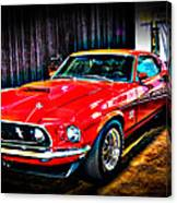 1969 Ford Boss 429 Mustang Canvas Print