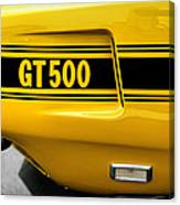 1969 Ford Shelby Mustang Gt500 Canvas Print