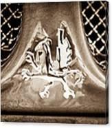 1969 Iso Grifo Emblem Canvas Print
