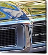1969 Pontiac Firebird 400 Grille Canvas Print