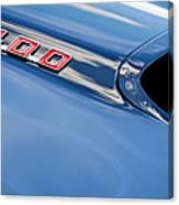 1969 Pontiac Firebird 400 Hood Canvas Print