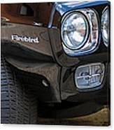 1969 Pontiac Firebird 400 Side Emblem Canvas Print