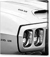 1969 Pontiac Trans Am  Canvas Print