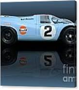 1969 Porsche 917k Gulf Daytona Winner Canvas Print