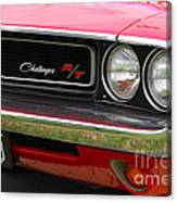 1970 Challenger Grill Canvas Print