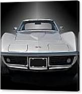 1970 Corvette Stingray Studio Canvas Print