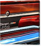 1970 Dodge Charger 500  Canvas Print