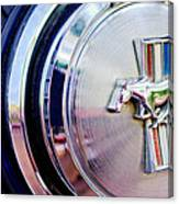 1970 Ford Mustang Mach 1 Emblem Canvas Print