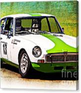 1970 Mgb Gt Canvas Print