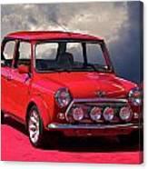 1970 Morris Mini Cooper Canvas Print