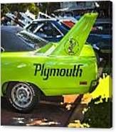 1970 Plymouth Road Runner Hemi Super Bird  Canvas Print