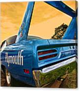1970 Plymouth Road Runner Superbird Canvas Print