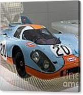 1970 Porsche 917 Kh Coupe Canvas Print