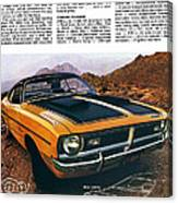 1971 Dodge Demon 340 Canvas Print