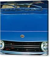 1971 Fiat Dino 2.4 Grille Canvas Print