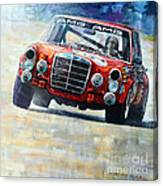 1971 Mercedes-benz Amg 300sel Canvas Print
