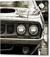 1971 Plymouth Cuda 383 Canvas Print