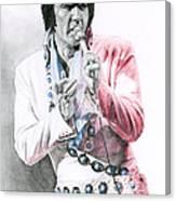 1971 Turquoise Concho Suit Canvas Print