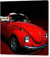 1971 Vw Convertible Canvas Print