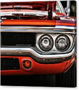 1972 Plymouth Road Runner Canvas Print