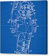 1973 Nasa Astronaut Space Suit Patent Art Canvas Print