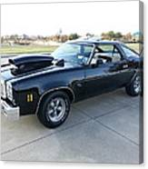1976 Chevy Malibu Modified Muscle Car Canvas Print