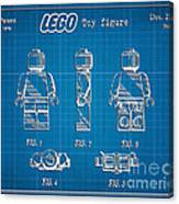 1979 Lego Minifigure Toy Patent Art 1 Canvas Print