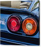 1980 Ferrari 308 Gtsi Taillight Emblem -0027c Canvas Print