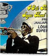 1982 Sugar Bowl Ticket Canvas Print