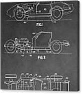 1983 Corvette Patent Canvas Print