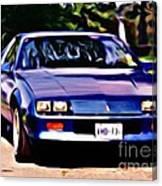 1985 Chev Camero Canvas Print