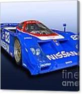 1988 Nissan Zx-gtp Race Car Canvas Print